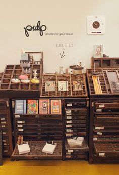Pulp Shop at Supermarket Sarah http://www.supermarketsarah.com/