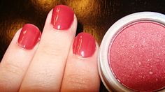 make nail polish from eye shadow! might be fun to do with some of those odd colors in the clearance bin!