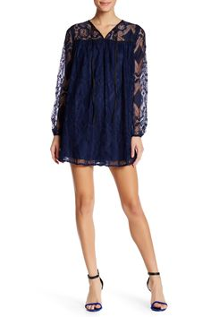 Day Dream Long Sleeve Lace Dress by AFTER MARKET on @HauteLook