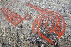 Did you know that in Austre Åmøy, Stavanger Region, there are around 1000 figures registered over a distance of about 1 km, divided into 10 fields? The petroglyphs were created in the Bronze Age and the early Iron Age.