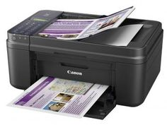 Impressora Multifuncional Canon Pixma E481 - Jato de Tinta Colorida Wi-Fi USB