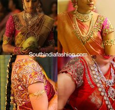 Bridal Saree Blouses ~ Fashion Trends ~ - Page 3 of 28 - South India Fashion