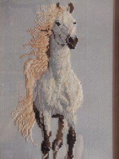COSAS DE CARI: Cuadro de caballo en punto de cruz