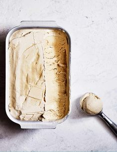 Cardamom and cinnamon add a fragrant edge to this quick ice cream idea. You only need 15 minutes to prepare before freezing – an easy pick-me-up for summer entertaining