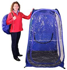 Under The Weather Sports Pod Pop-up Tent (Yellow)