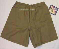 Womens size S Olive Green LINEN Shorts NEW HAVANA JACKS CAFE  #HavanaJacksCafe #DressShorts