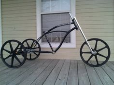 Chopper Bicycle Trike Beach Cruiser Chopper Trike
