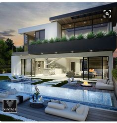 Dream house ~ luxury house, dream house, magnificent villa, wealth and sheer elegance - Traumhaus - Architecture