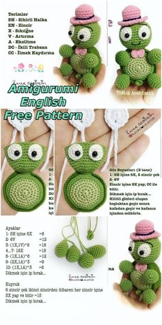 In this article we will share a wonderful amigurumi turtle keychain free crochet pattern. You can find everything you want about Amigurumi. Crochet Amigurumi Free Patterns, Free Crochet, Crochet Toys, Crochet Turtle Pattern Free, Crochet Appliques, Easy Crochet Animals, Crochet Dragon, Doily Patterns, Stuffed Animal Patterns