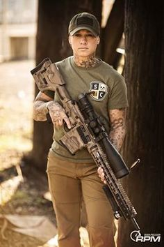 Kinessa Johnson. Former Army enlisted doing something about endangered wildlife.