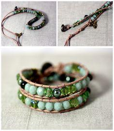 DIY Tutorial - How to make your own wrap bracelet