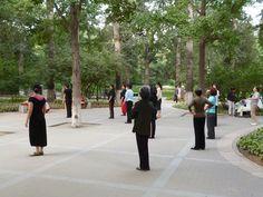 Tai chi in the park. Tai Chi, September, China, Park, Parks, Porcelain