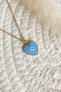 Evil Eye Necklace – Peachy Jewellery