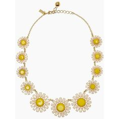 kate spade new york Estate Garden Necklace ($198) ❤ liked on Polyvore