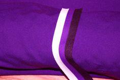 Fabric cheerleader athletic mid weight  purple by DancewearByDiana