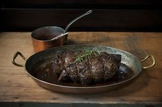 Porcini and Rosemary Crusted Beef Tenderloin with Port Wine Sauce Recipe by TasteFood/Food52