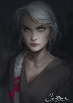 Manon work in progress. Not wasting any time getting on the Empire of Storms art train!