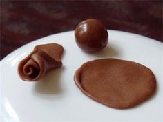 Chocolate playdough recipe.