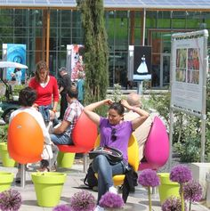 Tulip-Shaped Street Furniture Is Spreading Across the World - CityLab