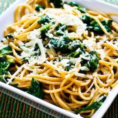 Kalyn's Kitchen®: Recipe for Whole Wheat Spaghetti with Garlic, Chard, and Pecorino-Romano Cheese [ friendly from Kalyn's Kitchen] Entree Recipes, Pasta Recipes, Vegetarian Recipes, Cooking Recipes, Healthy Recipes, Healthy Dinners, Swiss Chard Recipes, Whole Wheat Spaghetti, Romano Cheese