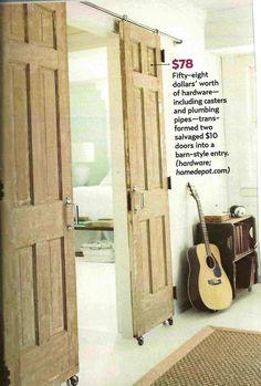 sliding decorator barn doors
