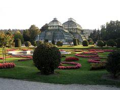 Palmanhaus in Vienna.  Great greenhouse.