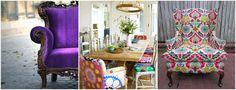 fotel, mieszkanie BOHO, styl BOHO