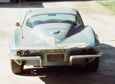 1963 67 Corvettes for Sale | ... Corvette Neil Armstrong NASA astronaut Project Car For Sale Rear