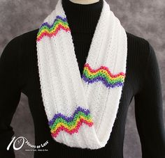 Free Pattern: Rounds of Rainbows by 10 Hours or Less