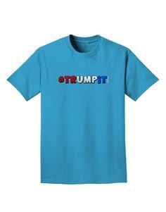 TooLoud Hashtag Trumpit Adult Dark T-Shirt