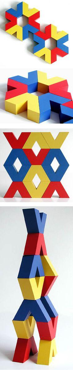Naef Vivo Wooden Stacking Toy   NOVA68 Modern Design