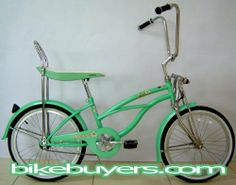 """Micargi Hero Girl's Mint Green Beach Cruiser Bike Bicycle, 20"""", banana seat, springer fork by Micargi. $154.99. KT 1-speed coaster brake. Will Call Center Located in Los Angeles.. weight limitaton: 150 lbs. Tire presure: up to 40 PSI. For girls around 4'0"""". 20"""" wheel, steel frame. * SIZES: 20"""" WHEELS FOR KIDS * COASTER BRAKE * FRONT & REAR FENDERS * ALLOY COLORED RIMS * STAINLESS STEEL SPOKES"""