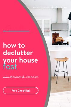 The need to declutter my home quickly left me feeling overwhelmed. Simplify the decluttering process with these tips and ideas to organize important areas of your home fast. You can do this in a few hours or in a weekend! Organized Entryway, Entryway Organization, Cleaning Checklist, Cleaning Hacks, Entry Closet, Drop Zone, Declutter Your Home, Homekeeping, Feeling Overwhelmed