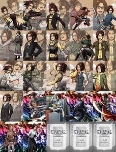 omg little hanji *fangirling* Attack On Titan Season 2, Attack On Titan Fanart, Attack On Titan Funny, Attack On Titan Ships, Hanji And Levi, Levihan, I Love Anime, Anime Shows, Character Art