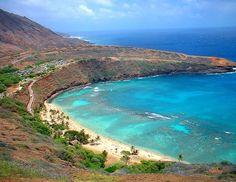 Hanauma Bay - Oahu's best beach for snorkeling Some of the best snorkeling in Hawaii.