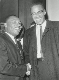 Martin Luther King Jr. AND Malcom X
