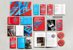 Prague Quadrennial 2015 visuals by Dynamo design, photo of printed realization by w:u studio Paper Design, Prague, Branding, Graphic Design, Studio, Printed, Brand Management, Studios, Prints