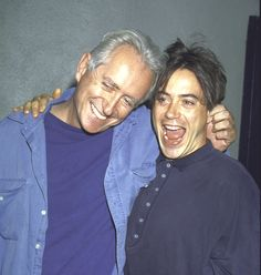 Robert & Robert Downey (Then)Father: actor, writer and director