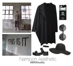 """Aesthetic: Namjoon"" by btsoutfits ❤ liked on Polyvore featuring forme d'expression, MM6 Maison Margiela, Topshop, Dorothy Perkins and MLC Eyewear"