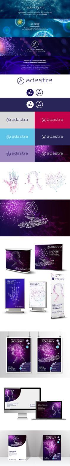 Adastra by Econocom- BtoB corporate branding