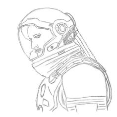 Work in progress Drawing Challenge, Astronaut, Drawings, Illustration, Art, Art Background, Illustrations, Kunst, Astronauts