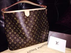 Louis Vuitton Delightful Mm Shoulder Bag. Get one of the hottest styles of the season! The Louis Vuitton Delightful Mm Shoulder Bag is a top 10 member favorite on Tradesy. Save on yours before they're sold out!