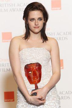 Kristen Stewart Medium Layered Cut
