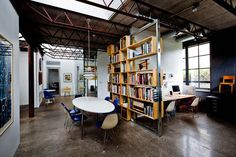 Sebastian Quinn Building Workshop turned a warehouse into a multi-use space