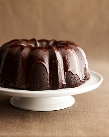 Martha made this cake on Martha Bakes episode 311. Instead of the glaze, she dusted the cake with confectioner's sugar.
