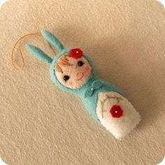 Babushka Bunny pdf Pattern, Babushka Pattern, Pattern, Doll Pattern