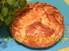 Kváskový mazanec – Maminčiny recepty Baked Potato, Food And Drink, Potatoes, Bread, Baking, Ethnic Recipes, Kochen, Bread Making, Patisserie