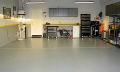 20 Best Garage Floor Paints Stains Dyes And Epoxy Images