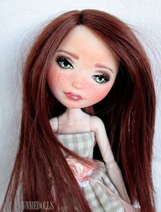 Ann OOAK Custom Ever After High doll rerooted by UnnieDolls