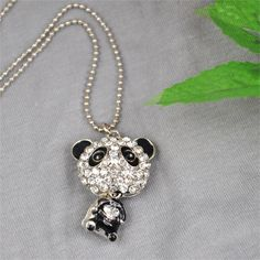 5 x (Cute Women's Long Necklace Cute Lovely Panda Pendant Jewellery Gift //Price: $US $4.11 & FREE Shipping //    USD 1.83-2.25/pieceUSD 1.74/pieceUSD 1.50-1.78/pieceUSD 3.33-4.86/pieceUSD 2.60-3.05/pieceUSD 13.16-15.01/pieceUSD 7.56/pieceIncluding 5 x (Cute Women's Long Necklace Cute Lovely Panda Pendant Jewellery Gift Very cute and shining panda pendant necklace The crystal diamante on the panda will make you eye-catching and charming Nice decoration to your outfit Great gift for girls and…